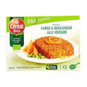 Céréal Burger bio farro e verdure gr. 200