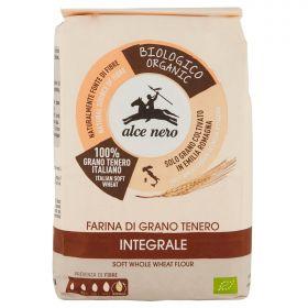 Alce Nero Farina di grano tenero integrale Bio kg. 1