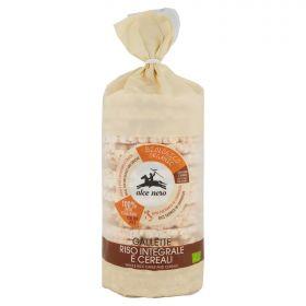 Alce Nero Gallette di riso integrale e cereali Bio gr. 100