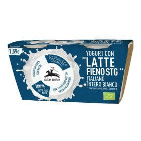 Alce Nero Yogurt intero bianco Bio gr. 125 x 2