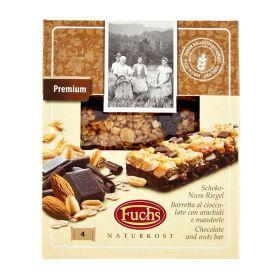 Fuchs Barrette cioccolato arancia e mandorle gr. 128