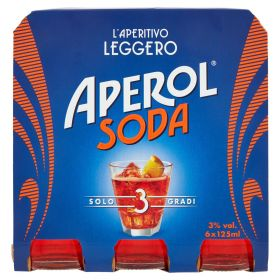 Campari Aperol soda ml. 125 x 6