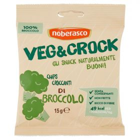 Veg&Crock Chips di broccolo gr. 15