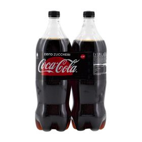 Coca cola Zero PET lt. 1,35 x 2