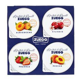 Zuegg Confettura extra monoporzioni gusti assortiti gr. 25 x 4