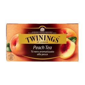Twinings Tè nero all'arancia e pesca 25 filtri