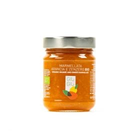 giù giù marmellata arance e zenzero bio biologico gr. 250 prezzemolo e vitale