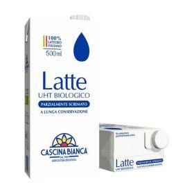 Cascina Bianca Latte parzialmente scremato ml. 500
