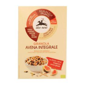 Alce Nero Granola di avena integrale con fichi e semi Bio gr. 300
