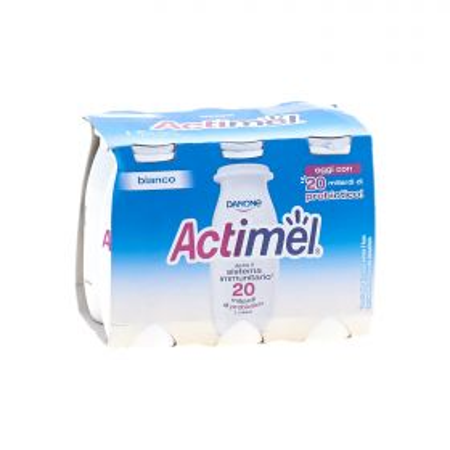 Danone Actimel yogurt da bere magro 0,1% bianco gr. 100 x 6