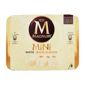 Algida Magnum mini bianco mandorle x 8  gr. 352