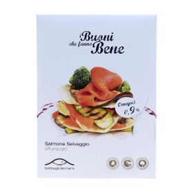 Bottega del Mare  Salmone selvaggio affumicato gr.80