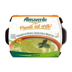 Almaverde Bio Passata di patate, cavolfiori e broccoli gr. 310