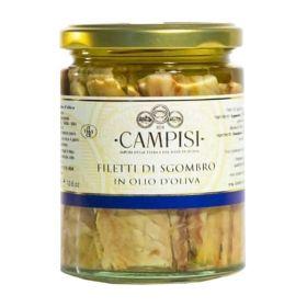 Campisi Filetti di sgombro olio d'oliva gr. 300