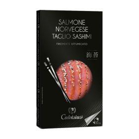 Calvisius Salmone norvegese finemente affumicato  gr. 100