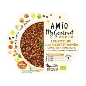 Amio Lenticchie mediterranee erbe bio  gr. 270