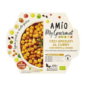 Amio Ceci speziati curry mirtilli rossi bio gr. 270