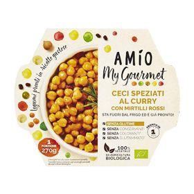 Amio Ceci speziati curry mirtilli rossi bio gr. 270