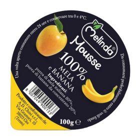 Melinda Mousse di mela e banana gr. 100
