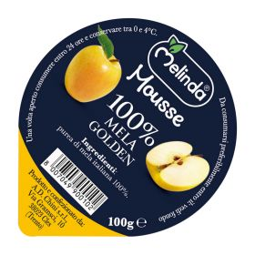 Melinda Mousse di mela golden gr. 100
