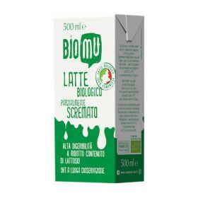 Biomu Latte parzialmente scremato alta digeribilità bio ml. 500