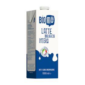 Biomu Latte intero bio lt. 1