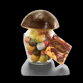 Caffarel Vaso di funghetti di cioccolato gr. 170