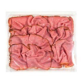 Le selezioni P&V Pastrami di bovino affettato gr. 100