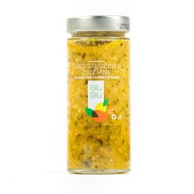 giù giù sugo salsiccia e zucchine siciliano sicilia gr.300 prezzemolo e vitale