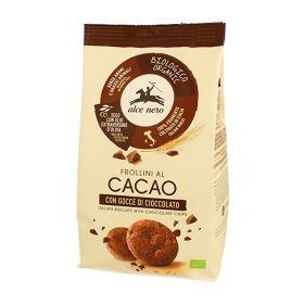 Alce Nero Frollini al cacao con gocce di cioccolato bio gr. 300