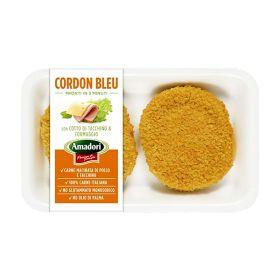 Amadori Cordon bleu prosciutto e formaggio gr. 250