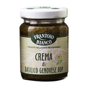 Frantoio Bianco Crema di basilico gr. 80