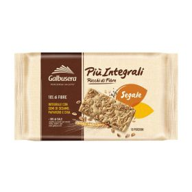 Galbusera Crackers più integrali segale gr.380
