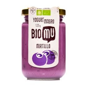 Biomu Yogurt magro al mirtillo bio gr. 125