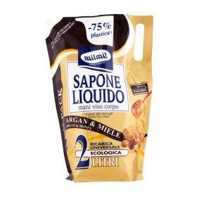 Mil mil Sapone liquido argan ricarica lt. 2
