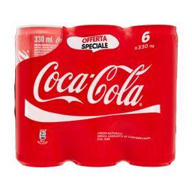 Coca cola Lattina cl. 33 x 6