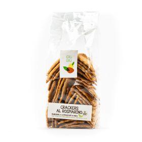 Giù Giù Crackers integrali al rosmarino gr. 150