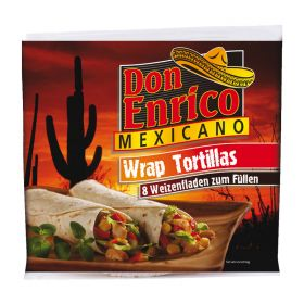 Don Enrico Tortillas wrap mexican gr.320