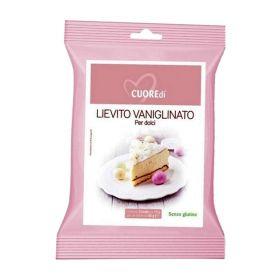 Cuoredi Lievito vanigliato senza glutine gr. 6x3