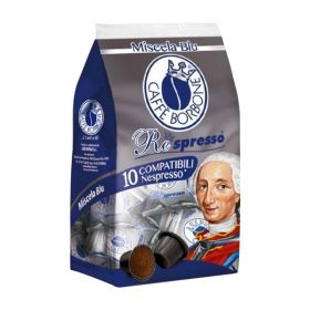 Borbone Caffè miscela nobile 10 capsule compatibili Nespresso