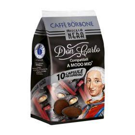 Borbone Caffè miscela decisa 10 capsule compatibili a modo mio