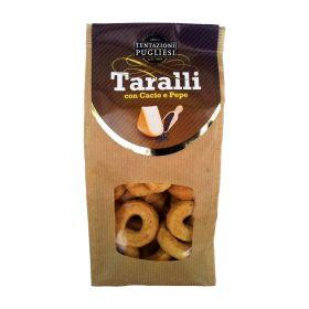 Tentazioni Pugliesi Taralli cacio e pepe gr. 250