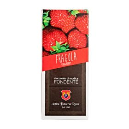 Dolceria Rizza Cioccolato di Modica alla fragola gr. 100