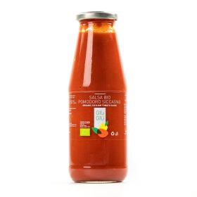 giù giù salsa di pomodoro siccagno bio ml 720 prezzemolo e vitale