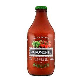 Agromonte Salsa di ciliegino al basilico cl.33