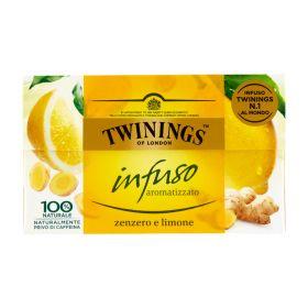 Twinings Infuso allo zenzero limone 20 filtri