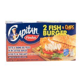 Findus Fish&Chips burger gr. 227