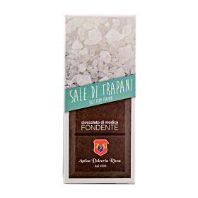 Dolceria Rizza Cioccolato di Modica al sale gr. 100