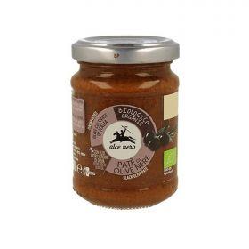 Alce Nero Patè di olive nere bio gr. 130