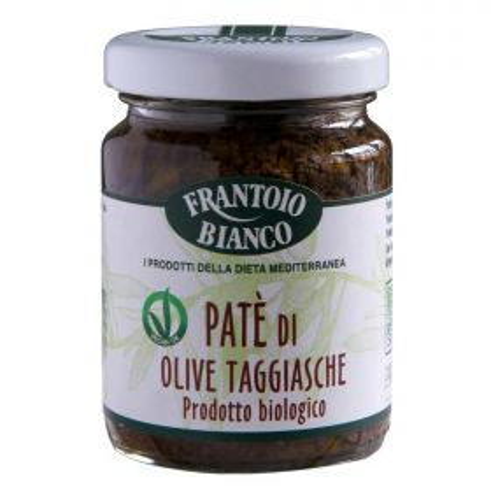 Frantoio Bianco Pate' di olive gr. 80